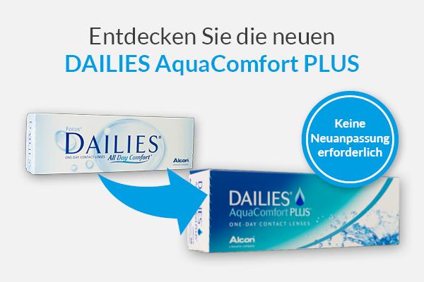 DAILIES AquaComfort PLUS bei meineLinse
