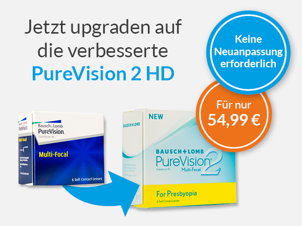 PureVision 2 HD for Presbyopia bei meineLinse