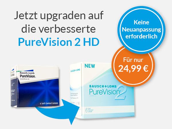 Jetzt Upgraden auf die PureVision 2 HD bei meineLinse
