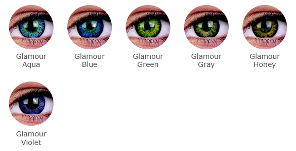 ColourVue Glamour Farbauswahl