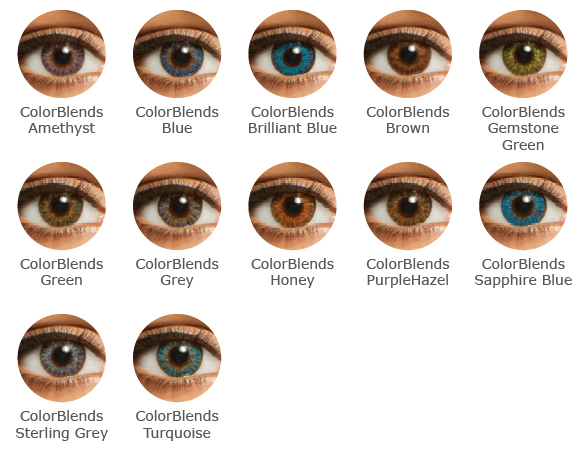 FreshLook  ColorBlends  Farbauswahl