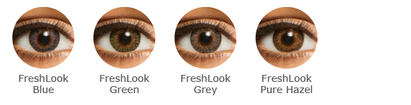 FreshLook  One Day Color Farbauswahl
